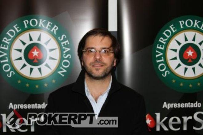 Luís licas Pereira vence a primeira etapa da PokerStars Solverde Poker Season 0001