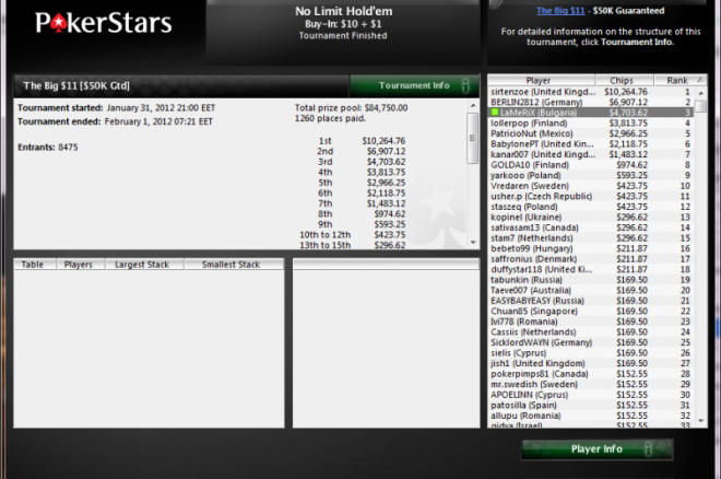 LaMeRiX PokerStars The Big