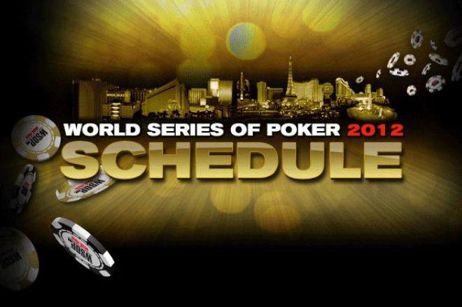 WSOP 2012, Stop ai November Nine 0001