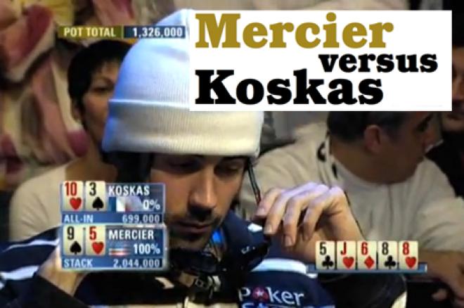 Het beste van PokerNews Magazine: Mercier versus Koskas (strategie met Jason Mercier)