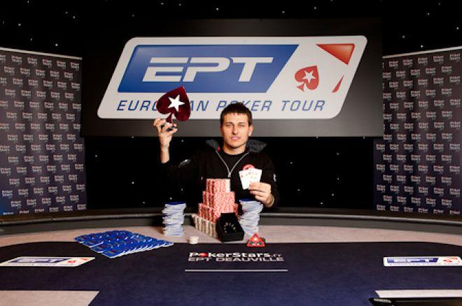 """PokerStars.fr EPT Deauville: Vadzim """"VadziMoney"""" Kursevich wint €875.000"""