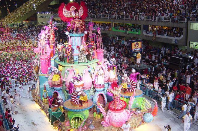 Carnival Parade in Brazil