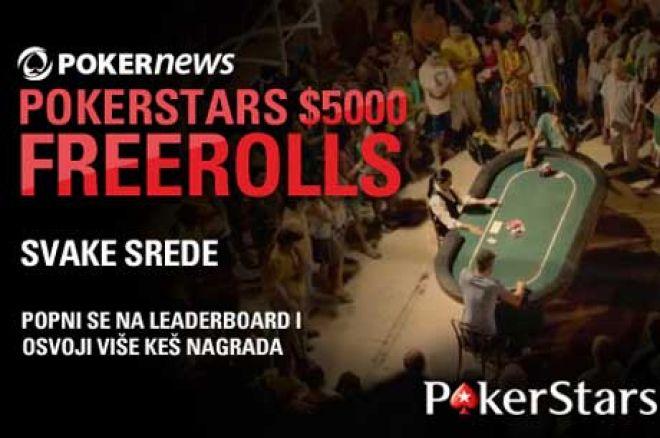 Učestvuj u $5,000 Nedeljnom PokerNews Freerollu na PokerStarsu! 0001