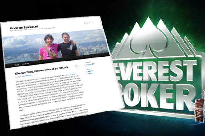 PokerNews Boulevard: Koen de Bakker weg bij Everest