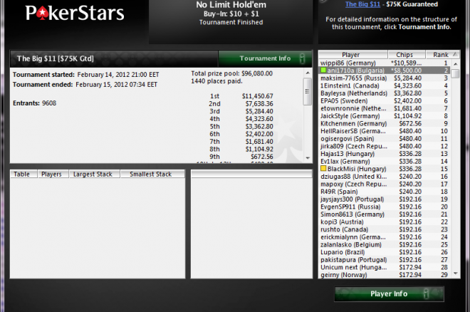 pokerstars the big ani1710a