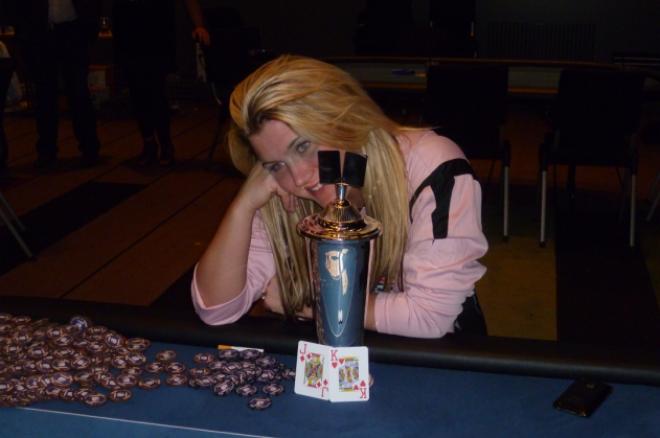 Lotte Westrum vant Norgesmesterskapet i freeroll poker 0001