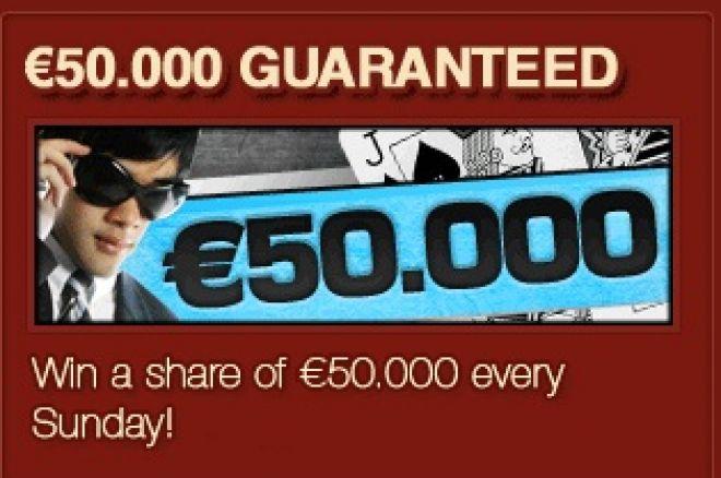 20 безплатни билета за €50,000 Head Hunter всяка седмица в... 0001