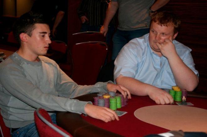 Ben Vinson (left) in action at Dusk Till Dawn (Photo:Blonde Poker)