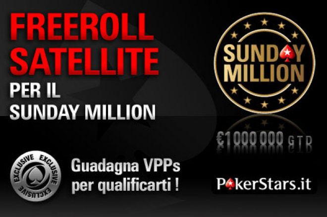 Tornano le grandi promozioni di PokerNews: vinci il Sunday Million su PokerStars.it! 0001