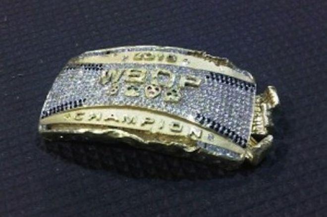 盗まれた2010 WSOP チャンピオンブレスレット 0001