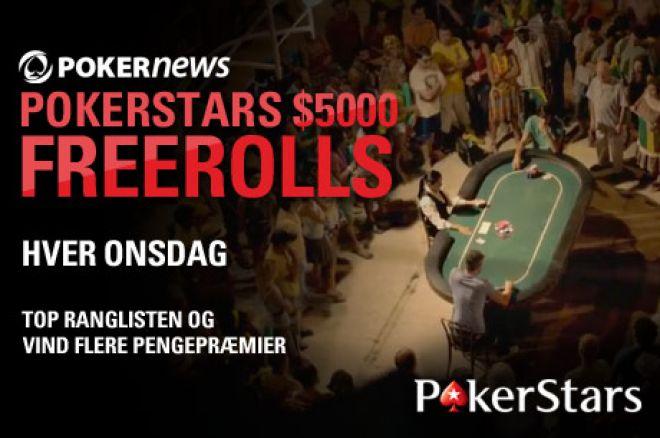 Spil med i den ugentlige $5.000 PokerNews Freeroll hos PokerStars! 0001