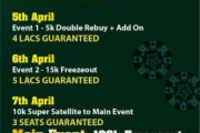 IPL April Edition with Huge Guarantees during Good Friday Weekend 0001