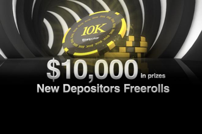 Vedd ki a részed a Titan $10.000-os Első Befizetőknek szóló Freerolljaiból 0001