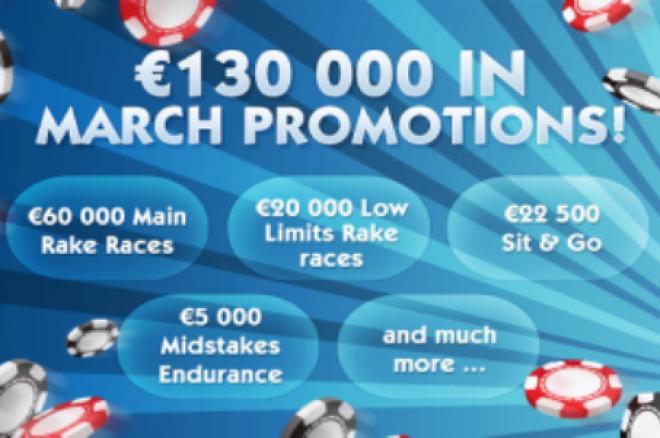 Над €130.000 в промоции ви очакват този месец в 24h Poker 0001