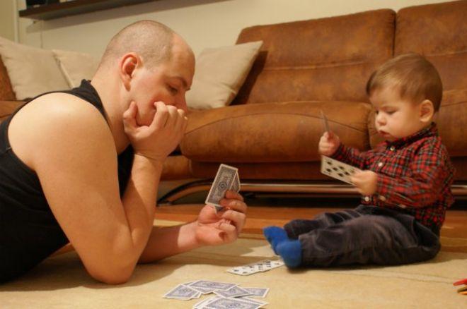 Покерный юмор. Папа-покерист. 0001