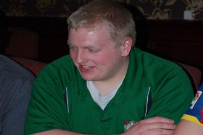 Last year's Student Masters winner Jamie Flynn