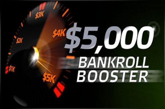 PartyPoker nedēļas ziņas: Bankroll Booster, live turnīru paketes u.c. 0001