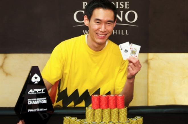 Andrew Kim uzvar 2012 PokerStars.net Asia Pacific Poker Tour Seoul Main Event 0001