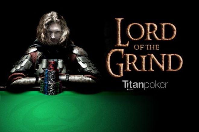 """Uždirbk $250 lengvai Titan Poker """"Grindinimo valdovo"""" pasiūlyme 0001"""