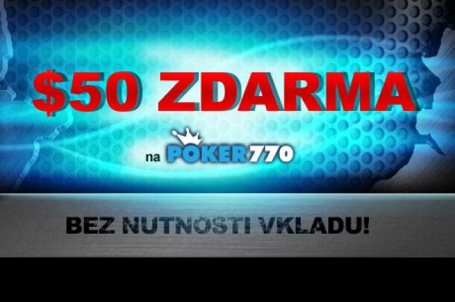 $50 Zdarma na Poker770