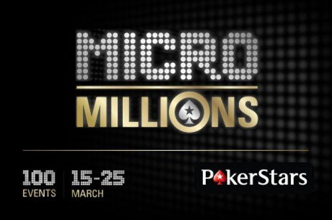 ポーカースターズ<MicroMillions>開催中! 0001