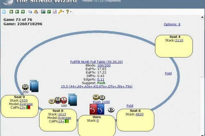 """""""SitNGo Wizard"""" programos apžvalga 0001"""