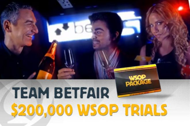 Team Betfair WSOP Trials