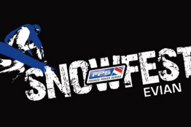 France Poker Series SnowFest Evian: Качалов у грі, Даркур - чіплідер 0001