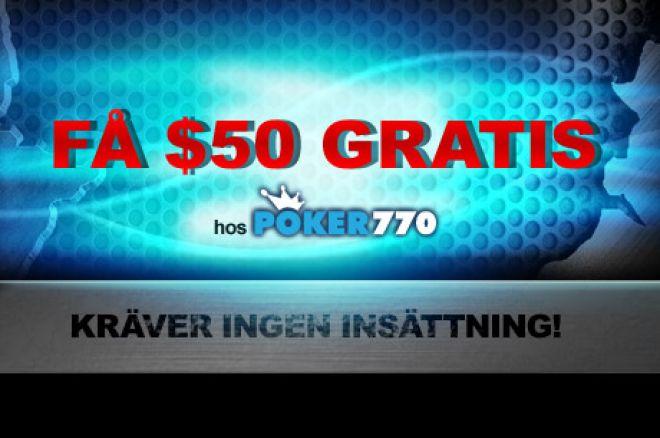 Poker770 $50 FREE!