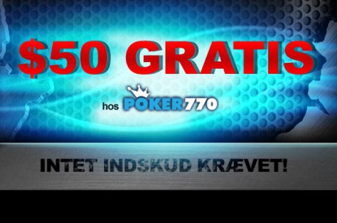 Poker770 $50 GRATIS!