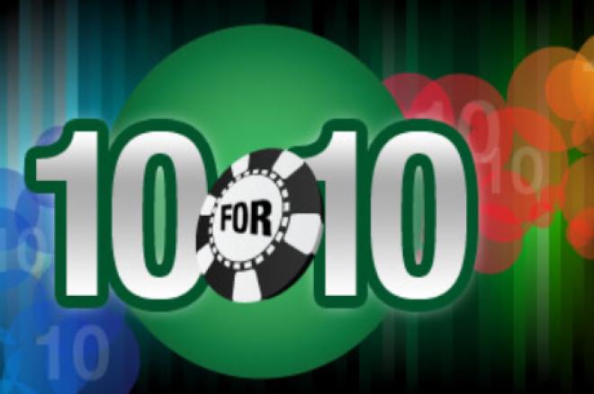 """Weź udział w promocji """"10FOR10"""" na Everest Poker 0001"""