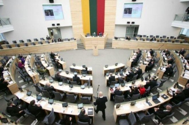 Lietuvos Respublikos Seimas: kokios nuomonės dėl komercinio pokerio įstatymo projekto? 0001