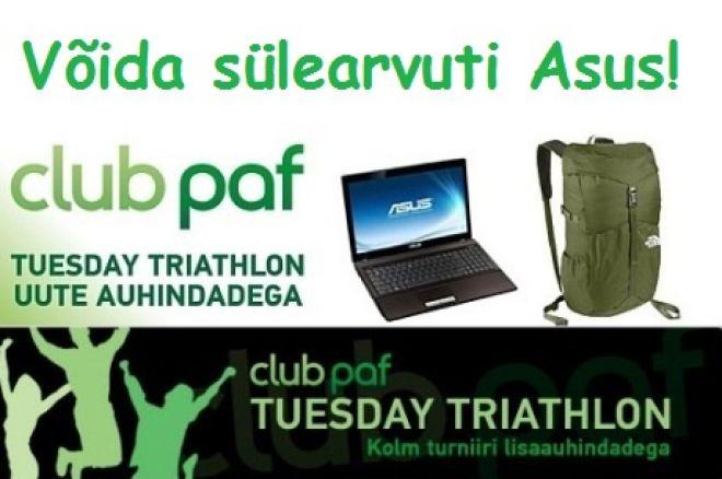 Mängi Tuesday Triathlon turniire ja võida sülearvuti Asus! 0001