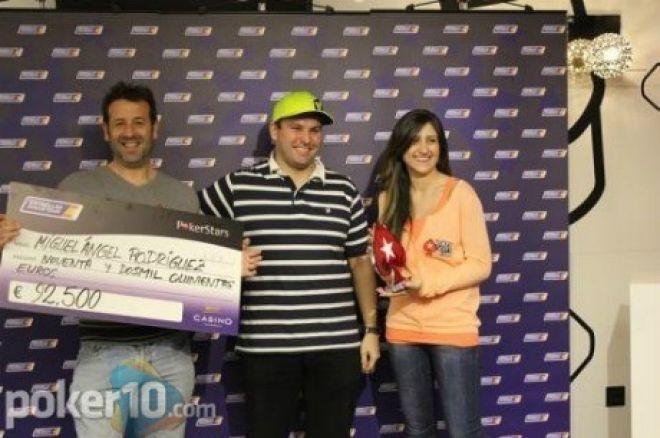 """Miguelis Ángelas Rodríguezas tampa """"Estrellas"""" pokerio turo čempionu 0001"""