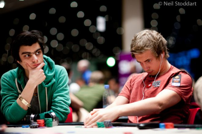 Blom in action at the EPT (Photo: Neil Stoddart)