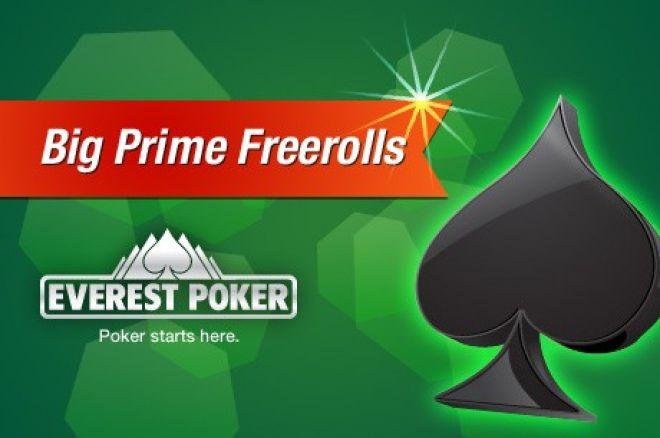 Vinn et sete til Everest Poker Big Prime $75 000 Freeroll 0001