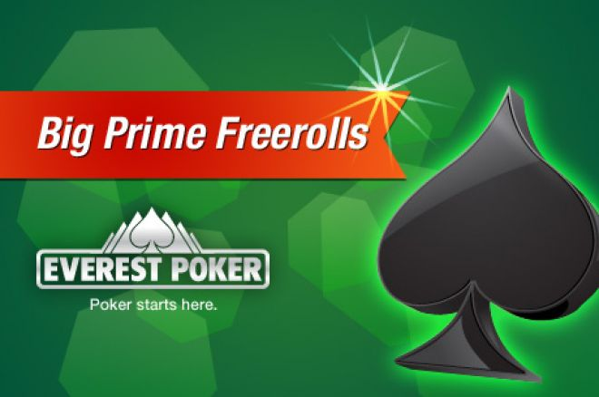 Спечелете си безплатно място на Everest Poker Big Prime $75,000... 0001