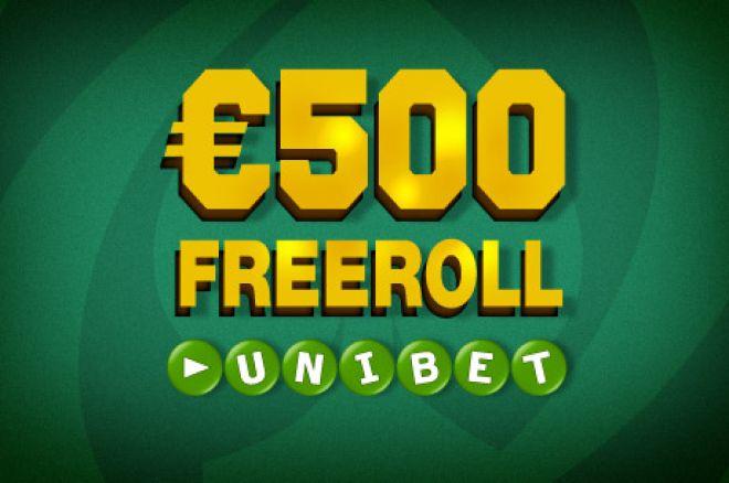 Unibet €500 freeroll