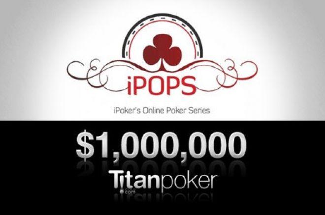 Vinnē daļu no $1 miljona Titan Poker iPoker Online Poker Series 0001