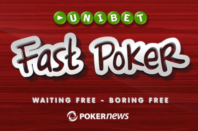 Unibet lanceert Fast Poker en koppelt er speciale bonussen aan vast