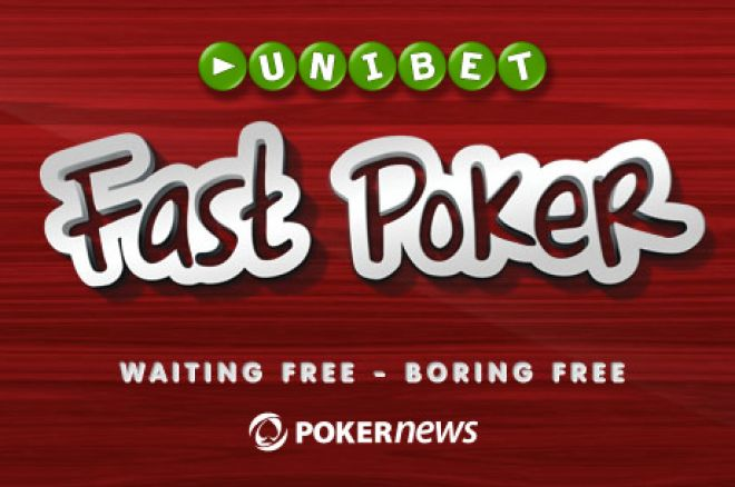 Unibet uruchomił Fast Poker 0001