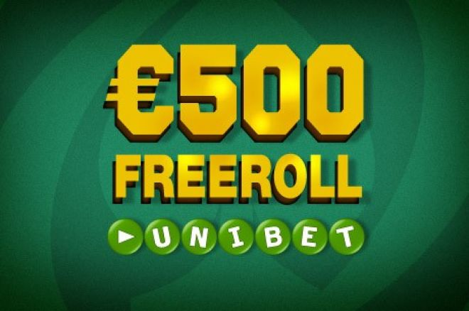 €6,000-nyi freerollbeülő várja az új játékosokat az Unibetnél 0001
