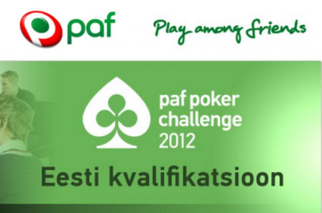 Paf Poker Challenge 2012