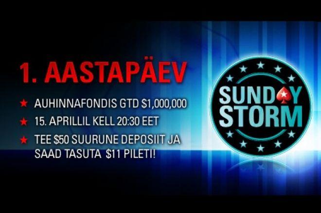 Osale tasuta Sunday Storm sünnipäevaturniiril! 0001
