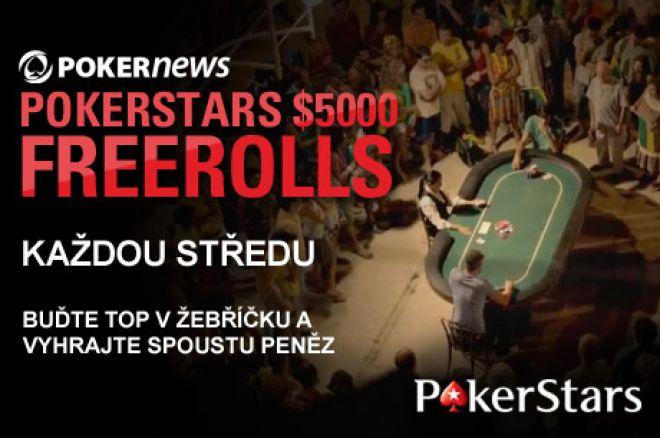 Pinkněte si $5,000 Freeroll na PokerStars! 0001
