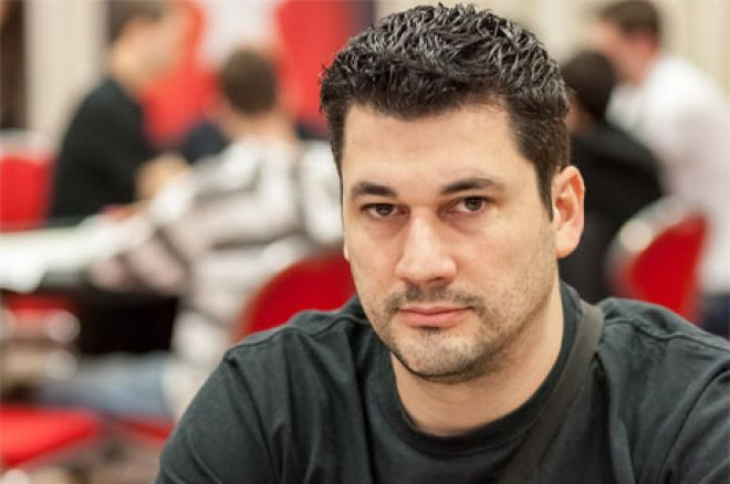 Nakon Dan 1b na Eureka Poker Turneji u Hrvatskoj Dragan Galić chiplider 0001