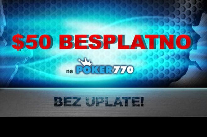 Ne Propustite PokerNews Ekskluzivnu Ponudu za Besplatnih $50 na Poker770 0001