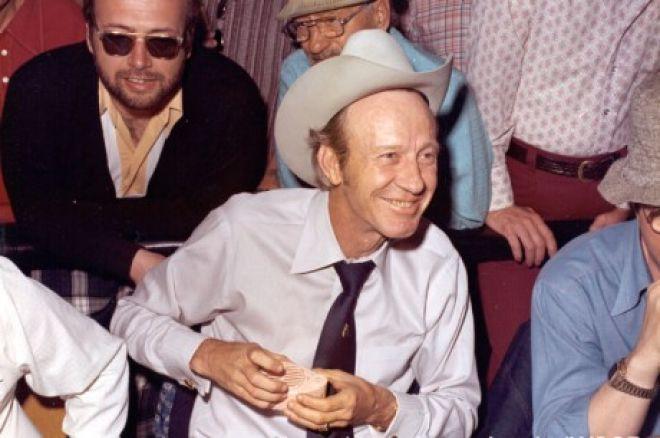 """La légende du poker """"Amarillo Slim"""" Preston s'est éteinte (1928-2012)"""