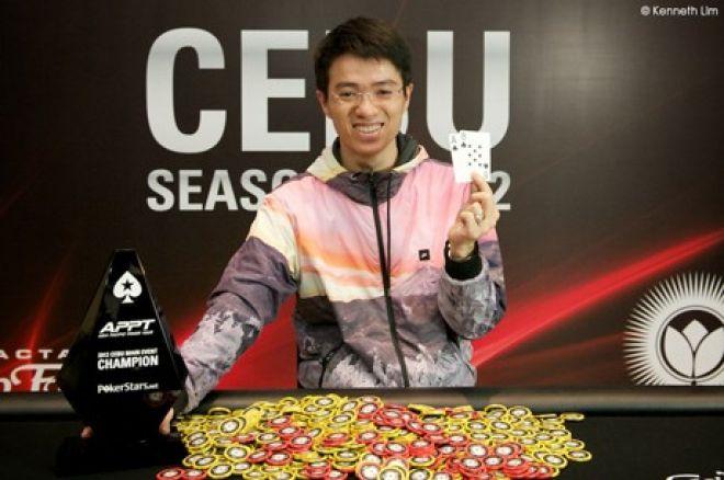 Hoang Anh Do:2012 APPT宿务主赛事冠军 0001