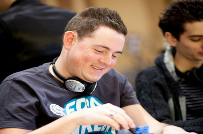Toby Lewis; Second in the €5k Six-Max event